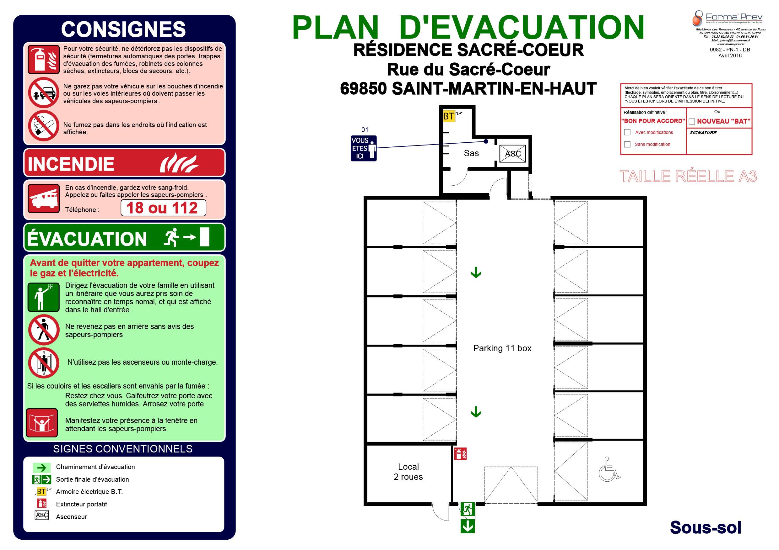 Plan d'évacuation 2